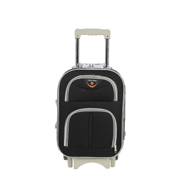 Super mute black Oxford luggage case
